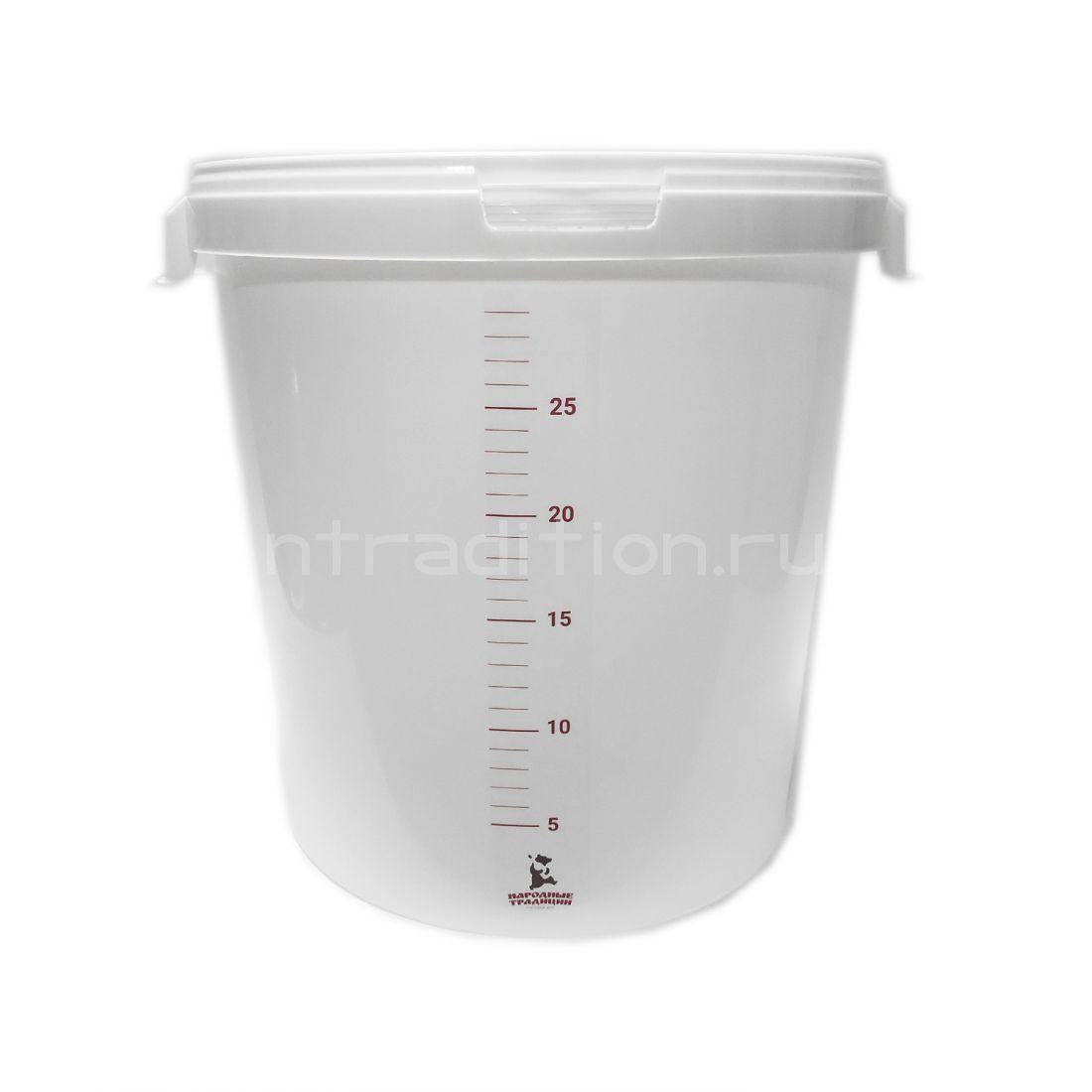 Линейка мерная на емкость для брожения 32 литра