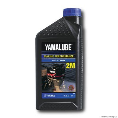 Yamalube 2M Marine 2-stroke Semisynthetic Oil LUB2STRKM112 (0,946 л)