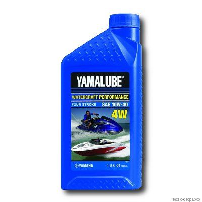 Yamalube 4W 10W-40 Watercraft Mineral Oil (0,946 л) для гидроцикла
