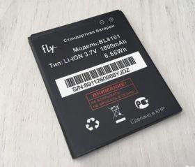 Аккумулятор Fly BL8101 для телефона IQ455 Octa EGO Art2
