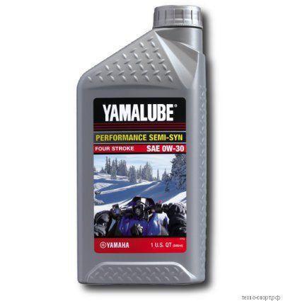 Yamalube 0W-30, 4-тактное полусинтетическое для снегоходов LUB00W30SS12
