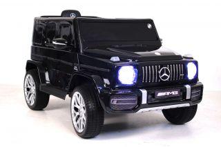 Детский электромобиль River Toys MERCEDES-BENZ G63 T999TT белый, черный