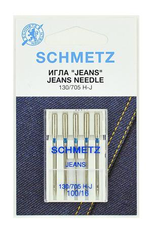 Иглы Schmetz джинс №100 (5шт.)