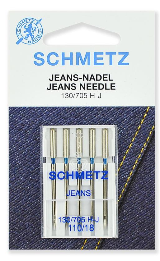 Иглы Schmetz джинс №110 (5шт.)