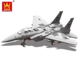 Конструктор Самолет - истребитель F15 Орел 262 детали
