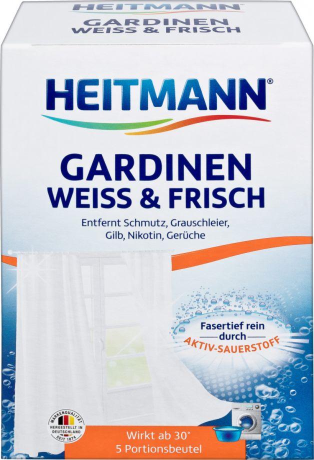 Heitmann Средство для стирки гардин и занавесок, 5*50 гр