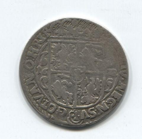 1/4 талера - орт 1622 года Литва Польша
