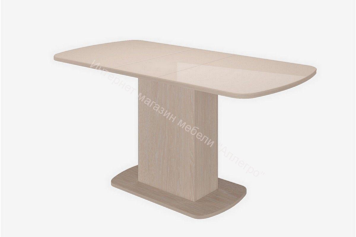 Стол Соренто-2 стекло глянец