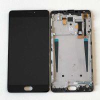 LCD (Дисплей) Meizu M3 Max (в сборе с тачскрином) (в раме) (black) Оригинал