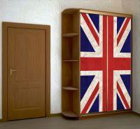 Наклейка на шкаф - Union jack | магазин Интерьерные наклейки