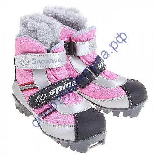 Лыжные ботинки NNN BABY 101