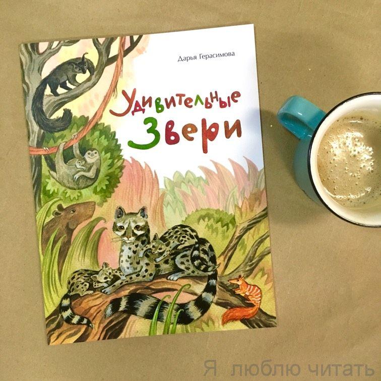 Книга «Удивительные звери»