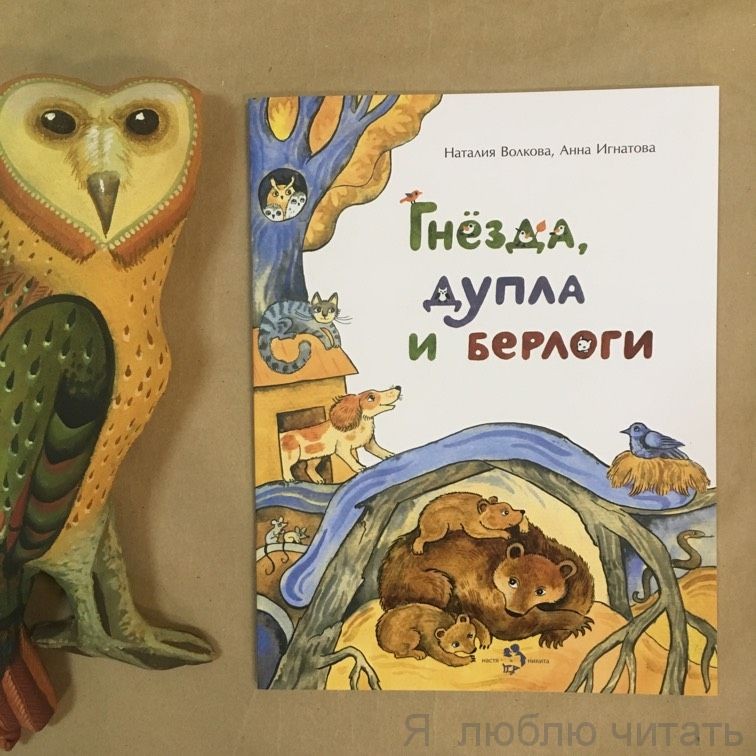 Книга «Гнёзда, дупла и берлоги»