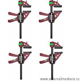 Комплект 4 шт Струбцин Extra Quick-Piher 30х8см быстрозажимная 52630 М00015949