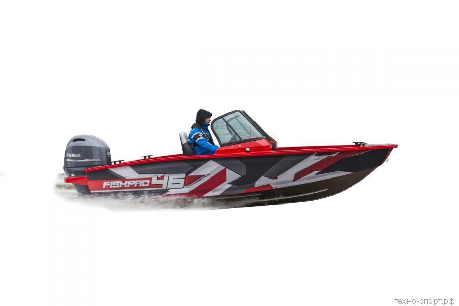 Лодка Волжанка Fishpro 46