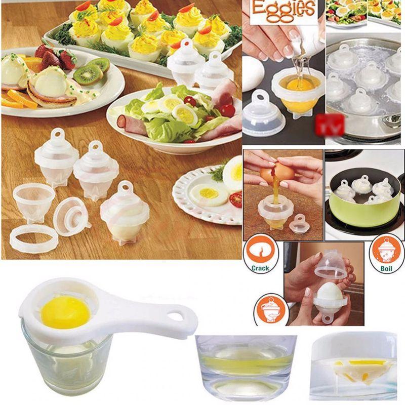 Формы для варки яиц без скорлупы Eggies, 6 шт