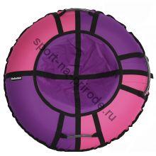 Тюбинг Hubster Хайп фиолетовый-розовый 120 см