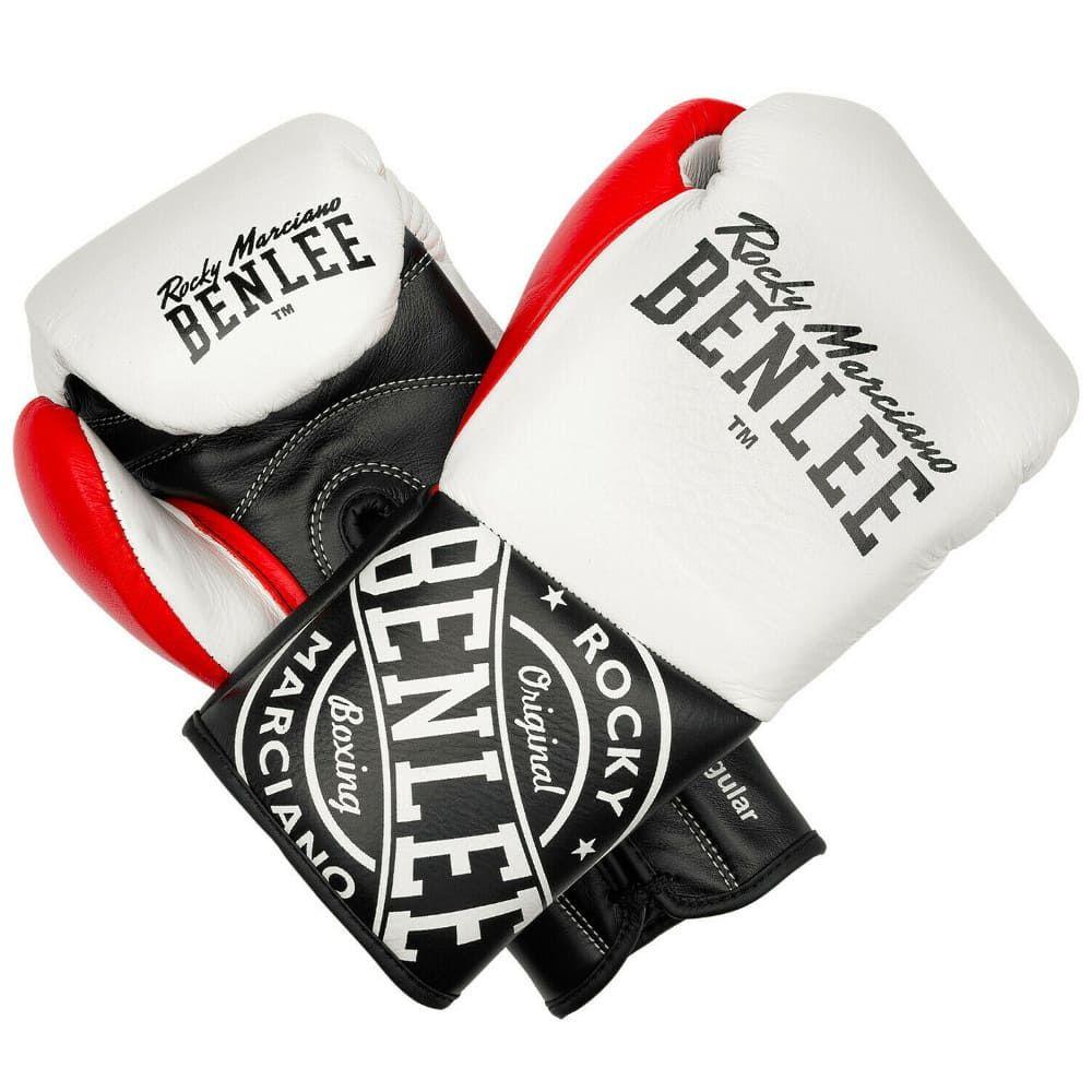 Боксерские перчатки BENLEE CYCLONE WHITE