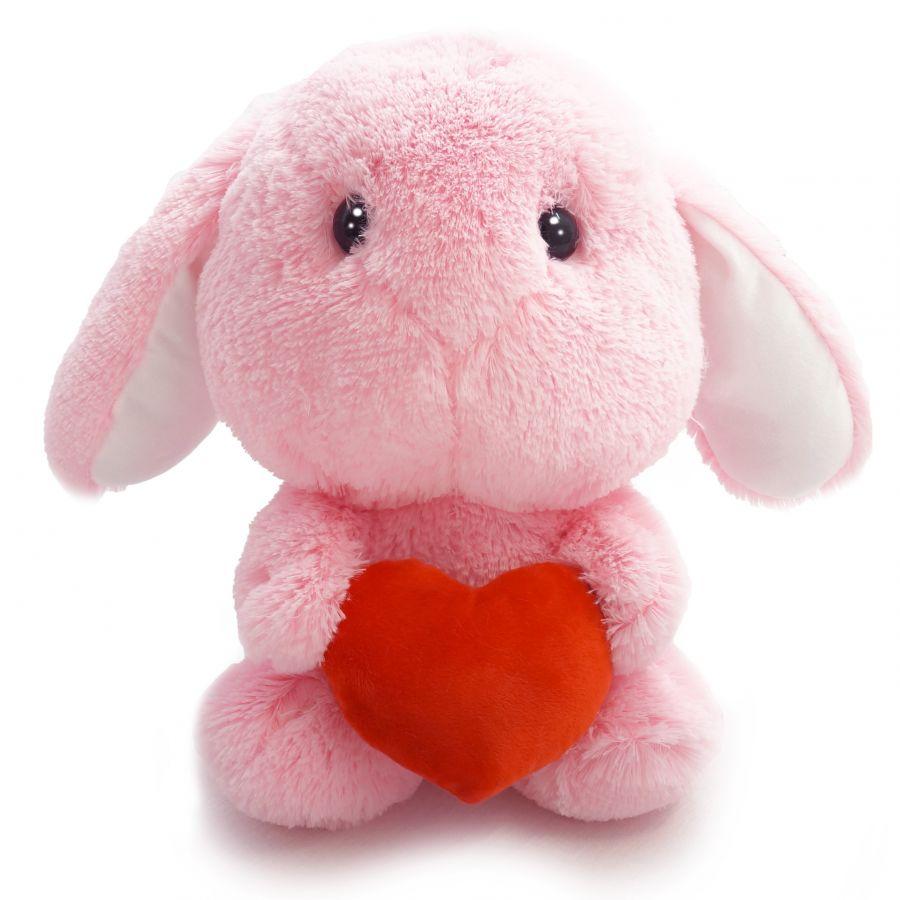 Зайчик Банни (ОР - 60см)(Д - 45см) Розовый