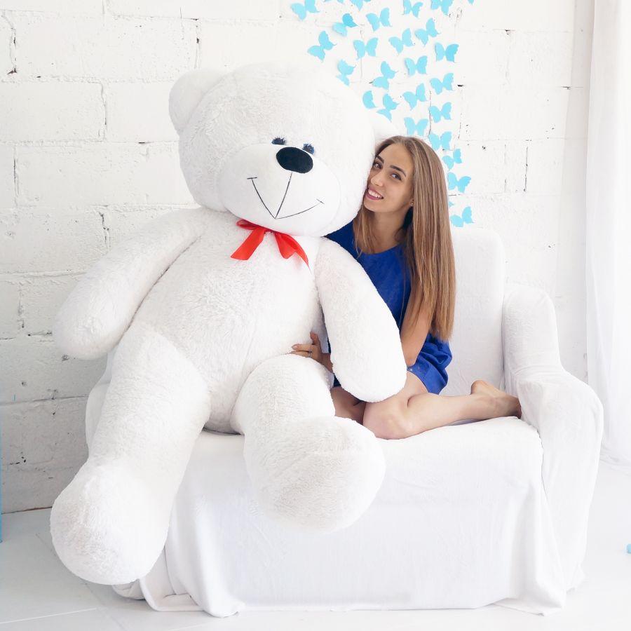 Мишка Федор (ОР-200см)(Д-170см)  Белый