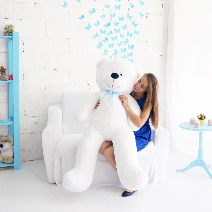 Мишка Федор (ОР-170см)(Д-145см) Белый