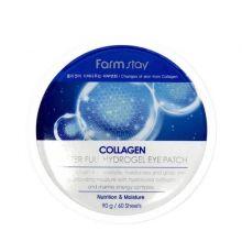 """FarmStay"" Collagen Waterfull Hydrogel Eye Patch Гидрогелевые патчи для глаз на основе коллагена 60"