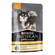 Purina Pro Plan Влажный корм для собак мелких и карликовых пород, c курицей в соусе, (пауч) 100 г