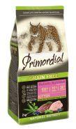 Primordial Grin Free Kitten Сухой корм для котят с индейкой и уткой, 400г