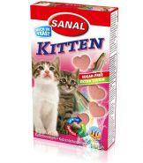 SANAL Витаминный комплекс Kitten с лососем и таурином 400г