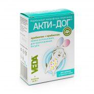 АКТИ-ДОГ для средних и крупных собак синбиотический функциональный корм (5 пакетов)