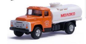Машина металлическая ЗИЛ-130 Цистерна Молоко 1:43