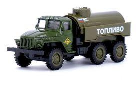 Машина металлическая Урал 4320 топливозаправщик 1:43