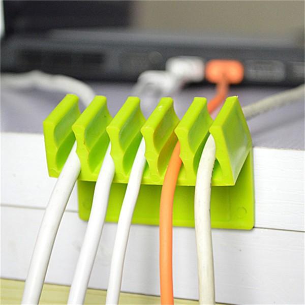 Пластиковый держатель проводов Cord Divider