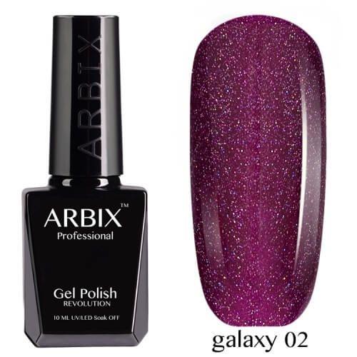 Arbix 002 Galaxy Гель-Лак , 10 мл