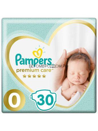 Подгузник PAMPERS Premium Care Newborn 0 (1.5-2.5кг), 1 шт./PAMPERS