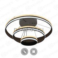 Управляемый светодиодный светильник GRAVITACIA VOLNA 170W 3R-605-WHITE/WHITE-220-IP20