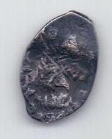 1 копейка 1613-1645 года Москва Михаил Федорович