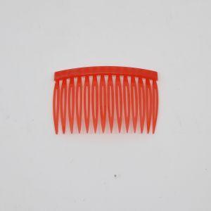`Гребень для волос, пластик, размер 72*43мм, цвет: красный