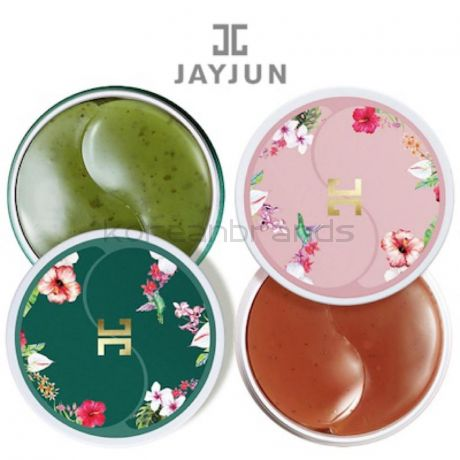 Jayjun  TEA eye gel patch 2 type (Roselle ,GREEN)