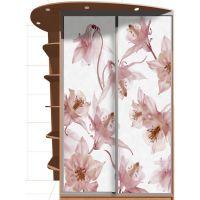 Наклейка на шкаф - Вальс цветов | магазин Интерьерные наклейки
