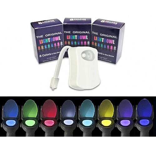 Подсветка для унитаза LED с датчиком движения LIGHT BOWL