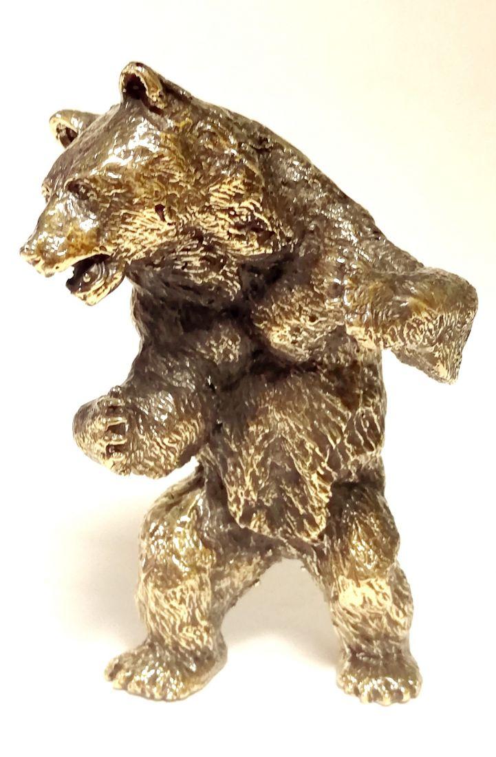 Статуэтка Медведя бронза