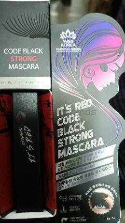ITS RED CODE BLACK STRONG MASCARA  MISS KOREA