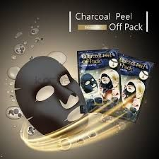 charcoal peel off pack