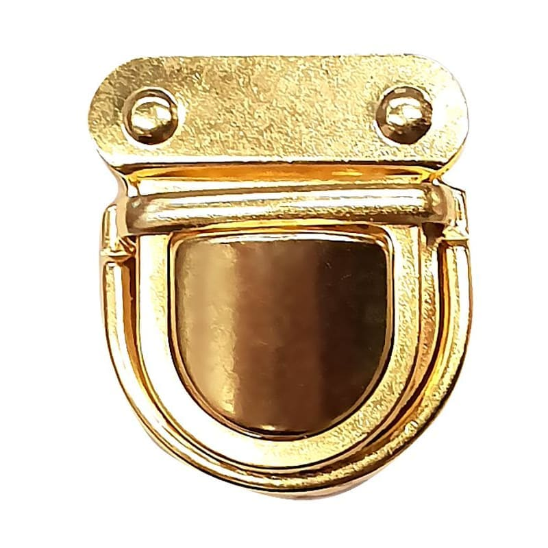 Замок-клапан 38*43 мм золото