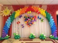 Выпускные, оформление шарами 3