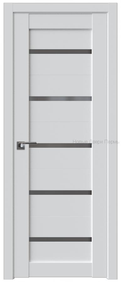 7U АЛЯСКА стекло Графит - PROFIL DOORS межкомнатные двери