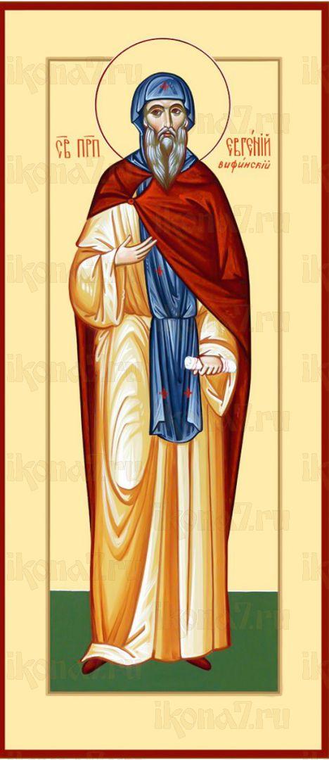 Икона Евгений Вифинский преподобный