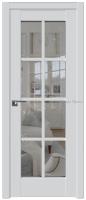 101U Аляска стекло прозрачное - PROFIL DOORS межкомнатные двери