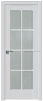 дверь 101U Аляска стекло Матовое